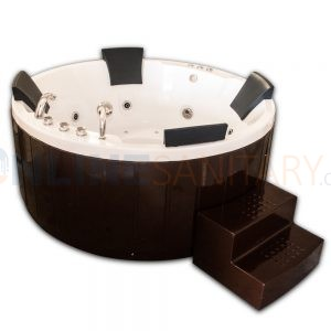 Adelina Round Whirpool Jacuzzi bathtub price in India
