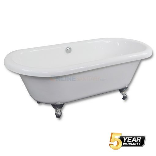 Clawfoot Soaking Acrylic Bathtub Price in India