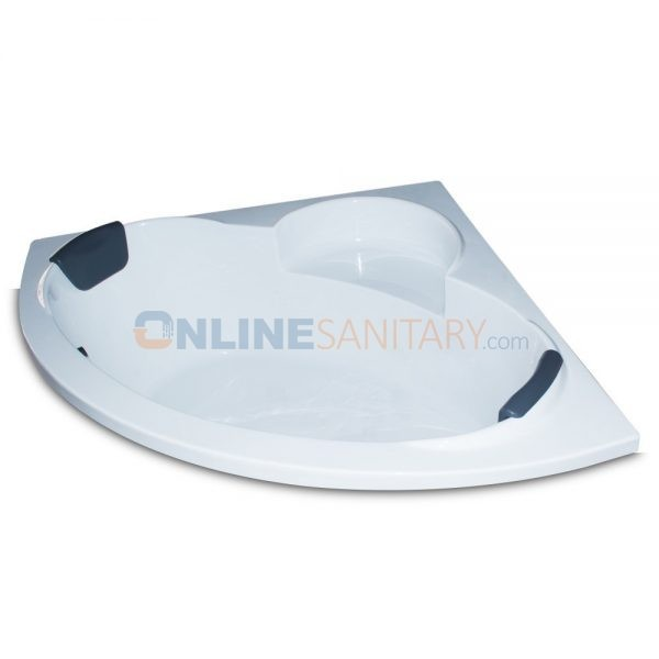 Galina Corner Acrylic Bathtub Price in India