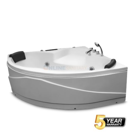 Oriel Corner Jacuzzi Bathtub Price in India