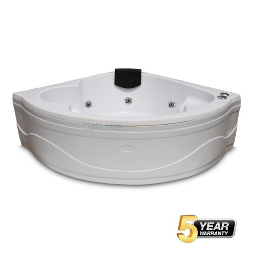 Perry Corner Jacuzzi Bathtub Price in India