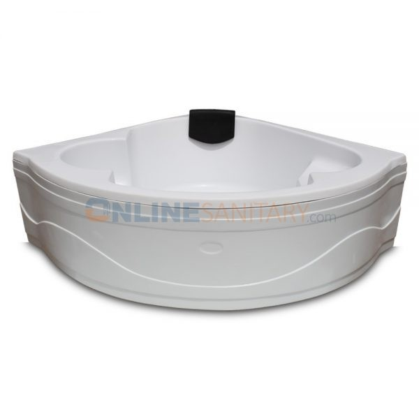 Perry Corner Acrylic Bathtub Price in India