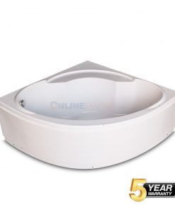 Ray Freestanding Corner bathtub at best price in Kolkata India