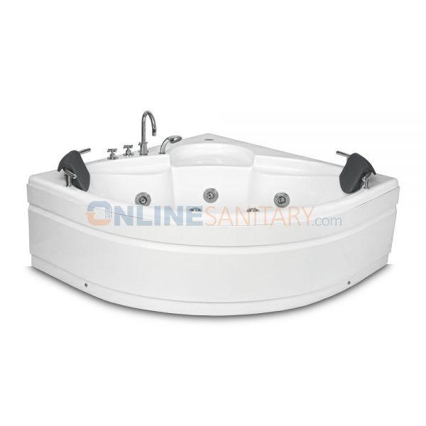 Cona Corner Jacuzzi Massage Bathtub Price