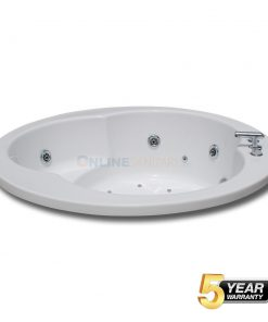 Iva Round Whirlpool Jacuzzi Bathtub at Best Price