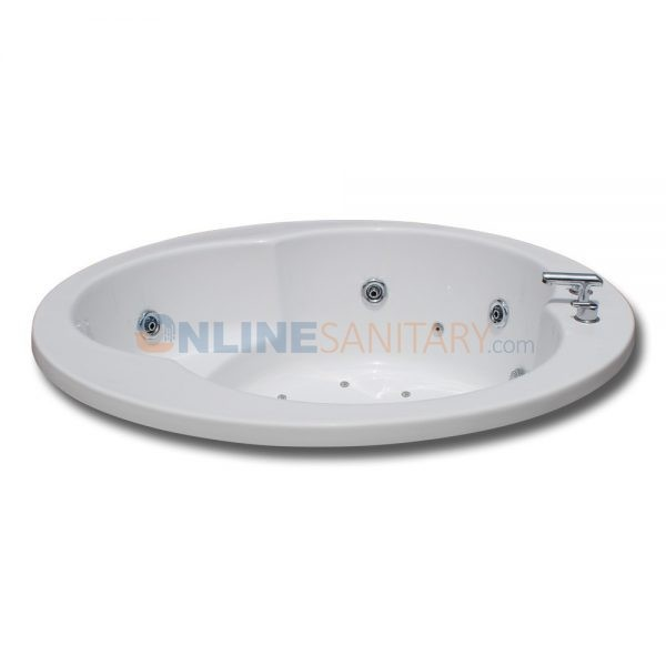 Iva Round Whirlpool Jacuzzi Bathtub Price in India