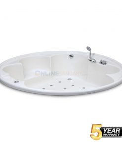 Omega Round Bubble Massage Bathtub Price