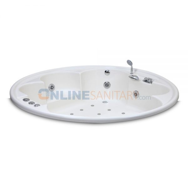 omega acrylib jacuzzi bathtub price in india