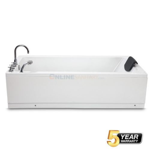 Zara Freestanding Soaking Acrylic Bathtub Price in India